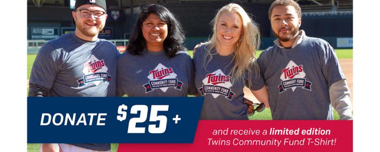 twins community fund minnesota twins