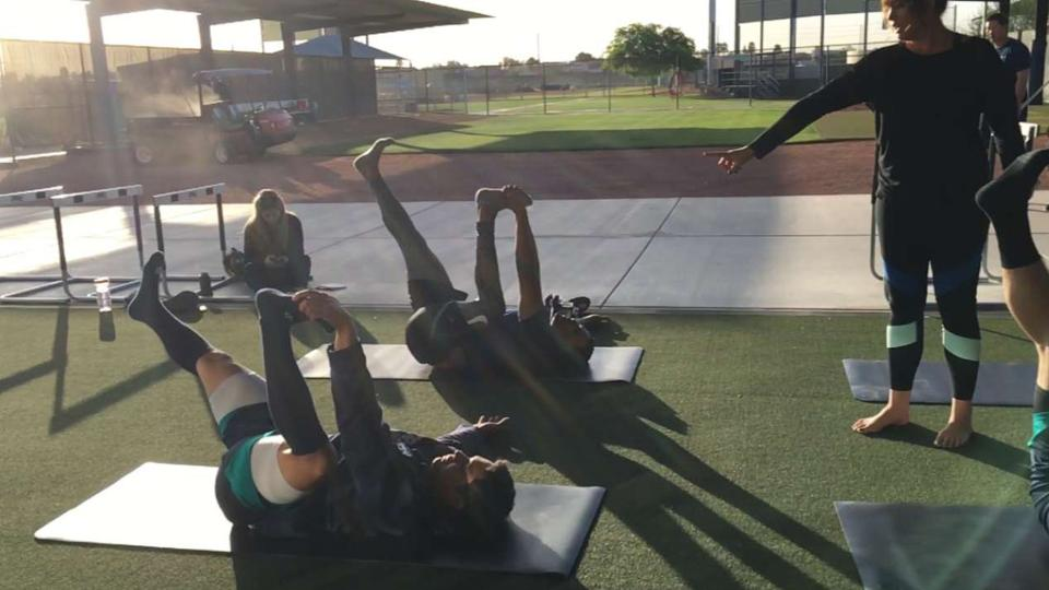 Mariners hope to benefit from new yoga classes  8bbf6d7fa794d