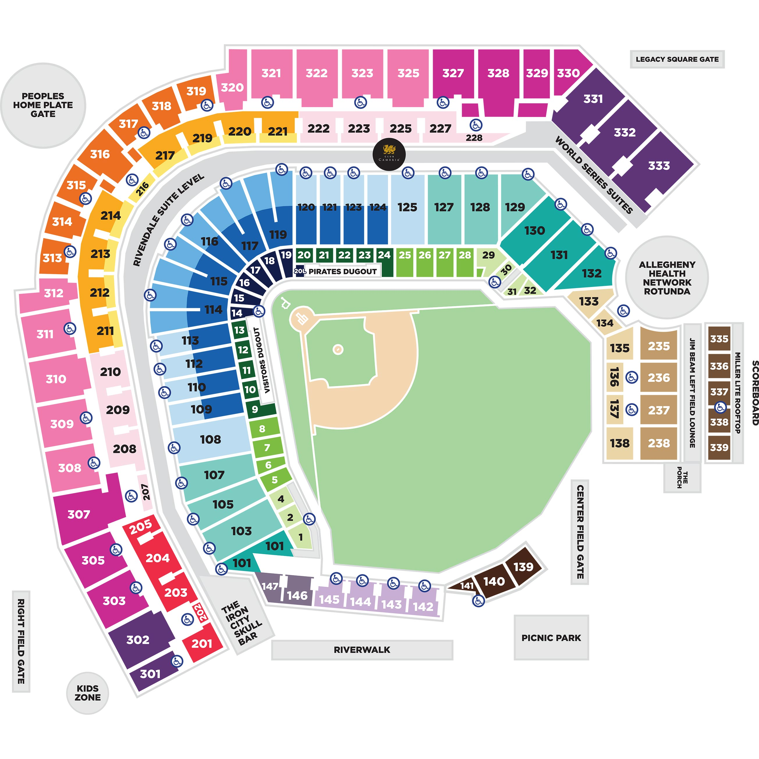 Group ticket pricing pittsburgh pirates