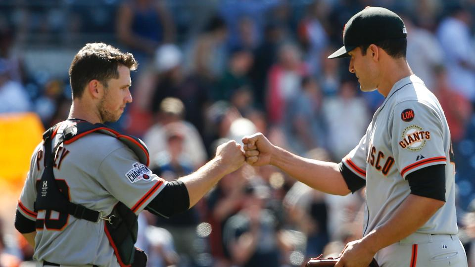 Buster Posey is among the early MVP candidates   MLB com