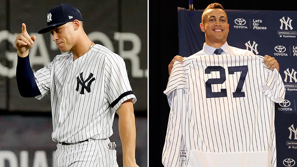 Aaron Judge or Giancarlo Stanton may play left | New York Yankees