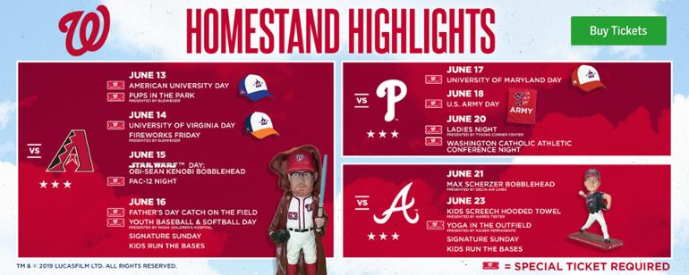 c0f6fc0463d Homestand Highlights: 2 Bobbleheads, 3 College Days, Catch on the Field,  Ladies Night and more!