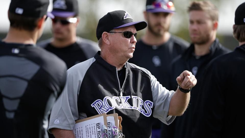 rockies new coach blake doyle tries to master hitting outside
