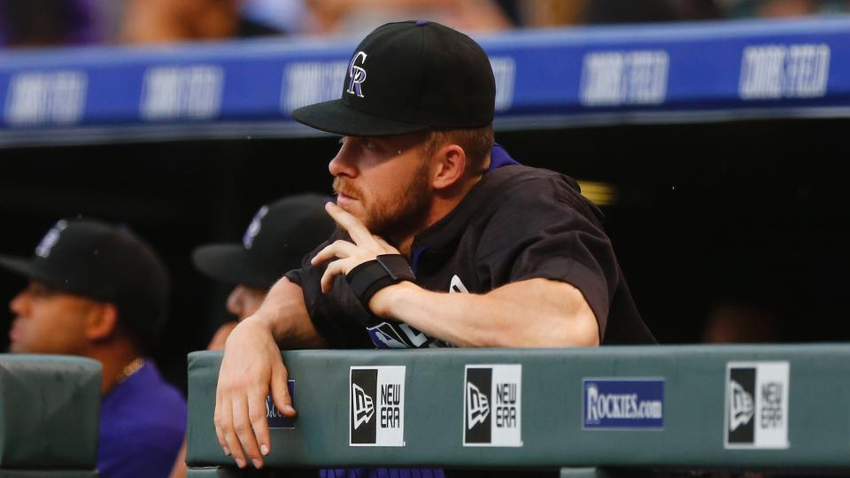3d65740058d Rockies Trevor Story stays busy while on DL