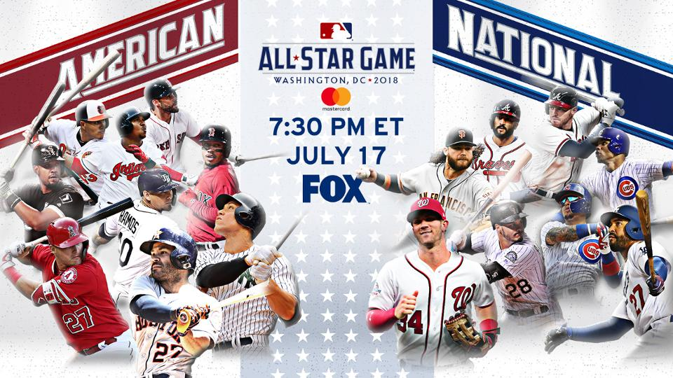 2018 MLB All-Star rosters announced