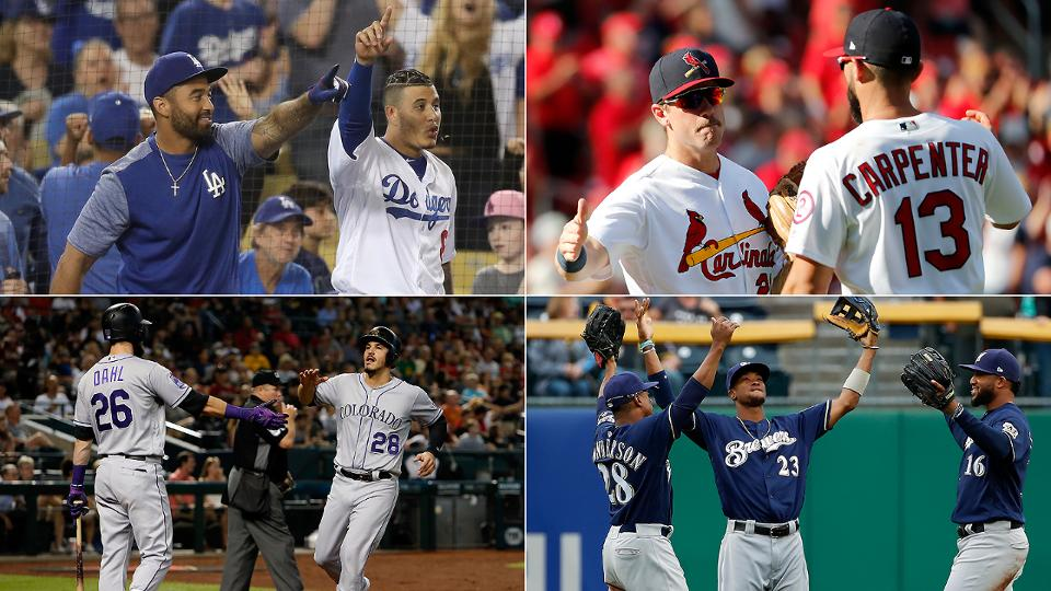 How 4 NL contenders could end season in a tie