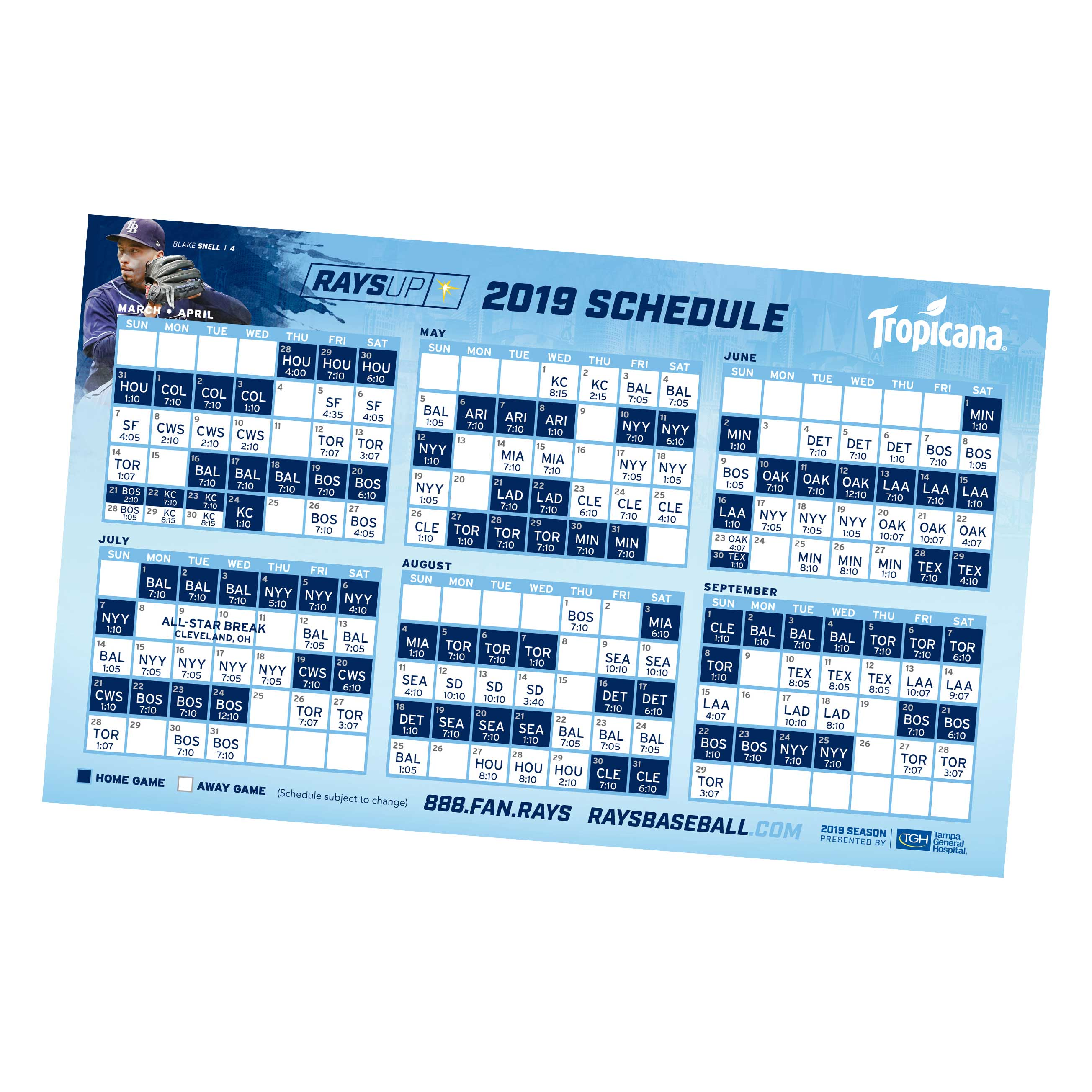Rays Tickets | Tampa Bay Rays