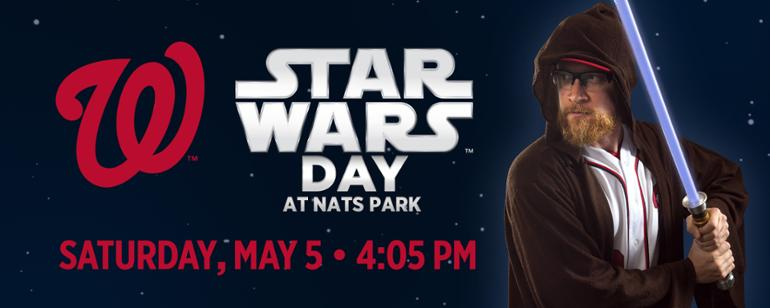 Image result for star wars day 2018 at nationals park