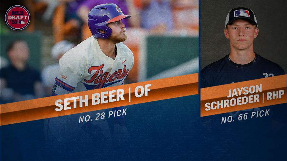 Astros pick Clemson OF Seth Beer in Draft
