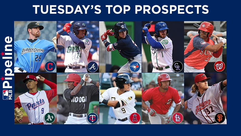 b0cb170a0 Indians pitchers lead Tuesday s top prospects