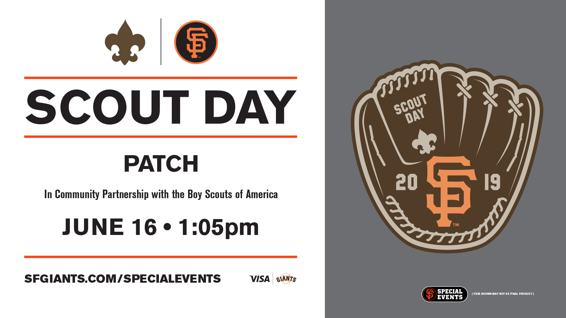SPECIAL EVENT: Scout Day | San Francisco Giants