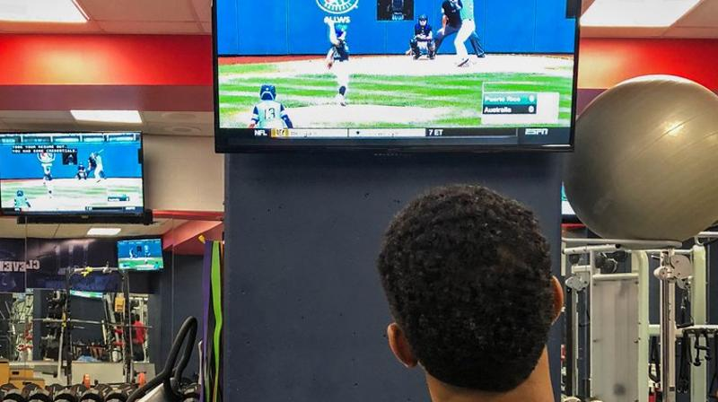 Before Saturday's game, Francisco Lindor watched Puerto Rico in the Little League World Series