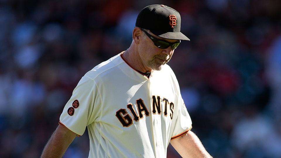 cf425fb10d4 Bochy struggles with Giants  bullpen issues
