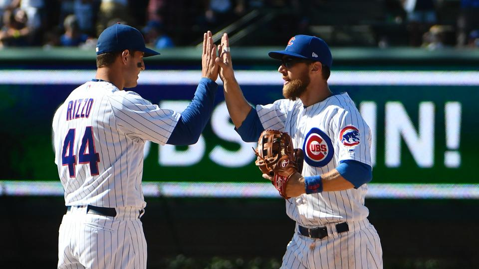 Cubs rally from five down to beat Reds