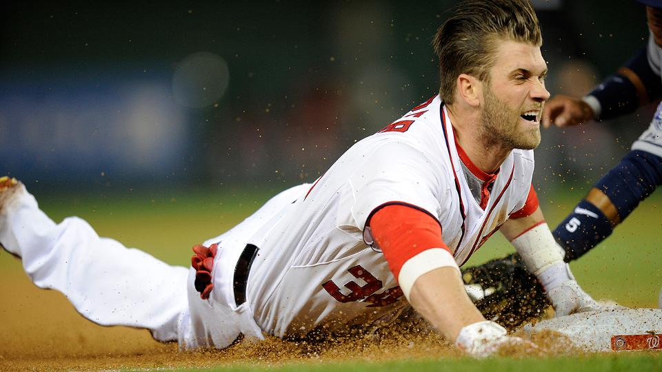 Nationals lose Bryce Harper to disabled list with thumb sprain | MLB.com