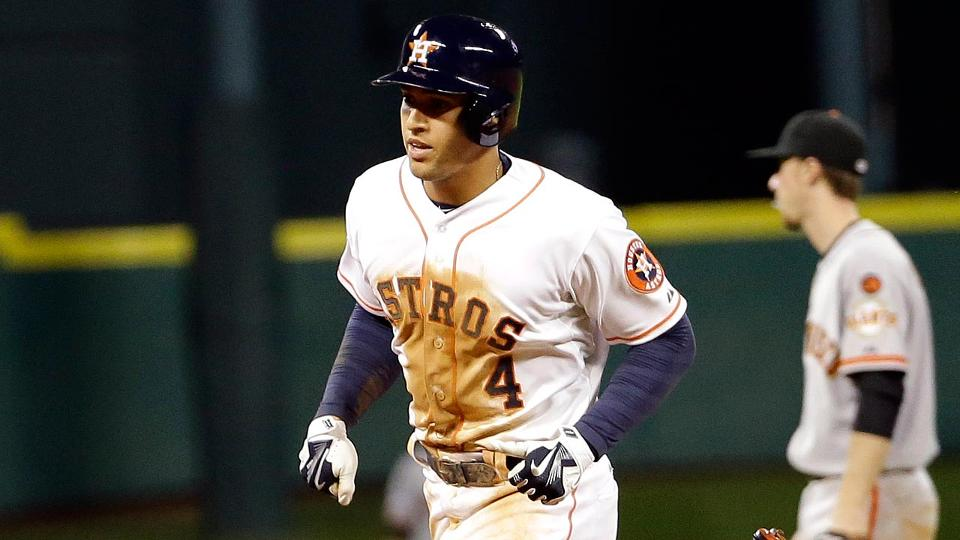 George Springer returns to Astros, homers to beat Giants | MLB.com