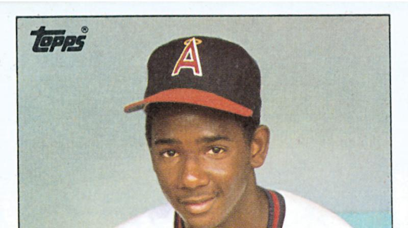 Gary Pettis 1985 Topps Card Origins Revealed Mlbcom