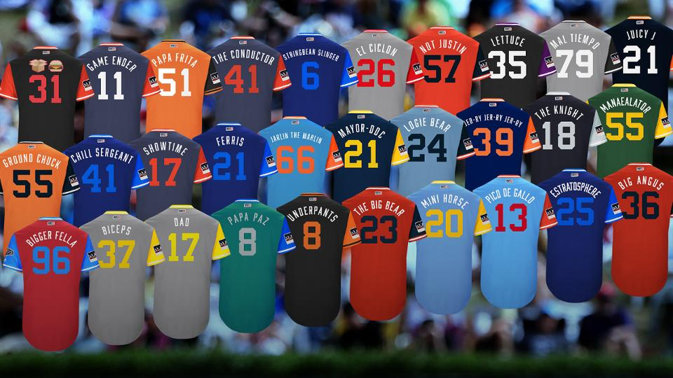 cheap for discount ea780 ced06 The best MLB Players' Weekend nicknames | MLB.com
