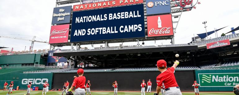 photograph relating to Washington Nationals Printable Schedule known as Nationals Baseball Camps Washington Nationals