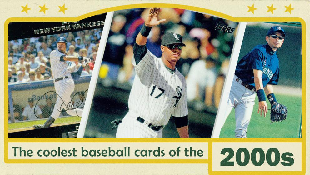 The Coolest 2000s Topps Baseball Cards Mlbcom