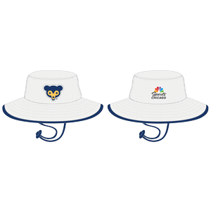 a8a563e778b Promotion  Cubs Bucket Hat. Presented By NBC Sports Chicago