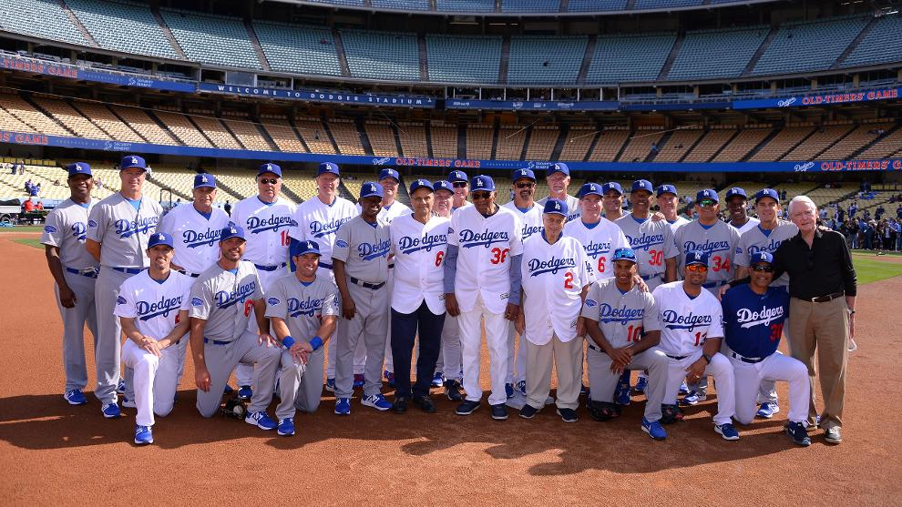 dodgers alumni game los angeles dodgers