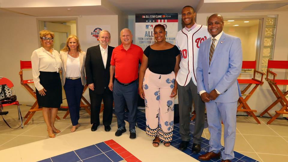 WASHINGTON -- DaShall House Speed often lives vicariously through her son, Langston Speed, because of his opportunities by way of the Nationals Youth Baseball Academy. House Speed felt especially jealous of her son last year, when Anthony Rendon called Langston by his first name during the Nationals' All-Star logo reveal at Nationals Park, or in 2016, when Langston came home thrilled after playing ball with Rendon, Bryce Harper and Jayson Werth at the Academy.