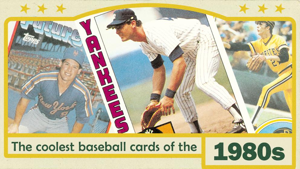 The Coolest 1980s Topps Baseball Cards Mlbcom