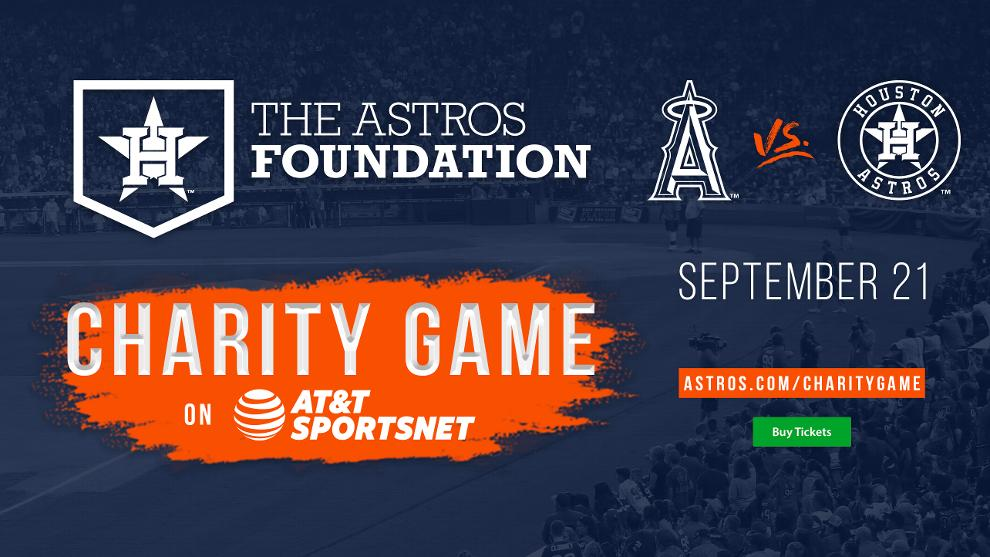 8b433d93d Astros Foundation Charity Game on AT T SportsNet
