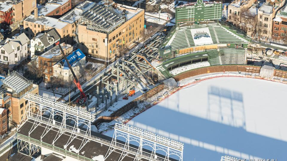 Renovation of Wrigley Field progressing as planned | MLB.com