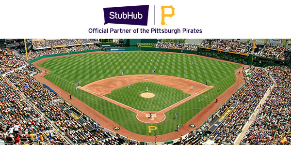 StubHub - Official partner of the Pittsburgh Pirates