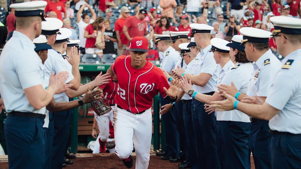 brand new ce43b 95c49 Military Initiatives | Washington Nationals