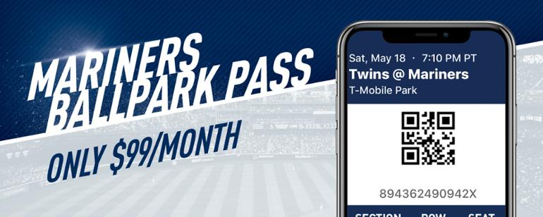 ffbabbccb Mariners Ballpark Pass is now available