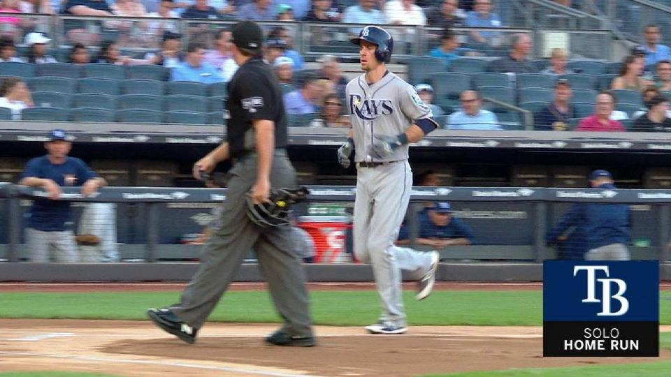 Duffy's first-pitch HR opens series in Bronx