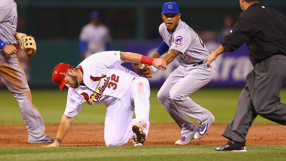 Cardinals, Matt Adams regret miscues vs. Cubs | MLB.com