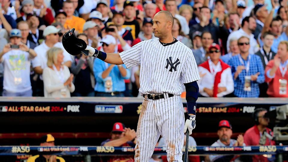 4898d19b Derek Jeter goes out in style to fitting All-Star Game farewell | MLB.com
