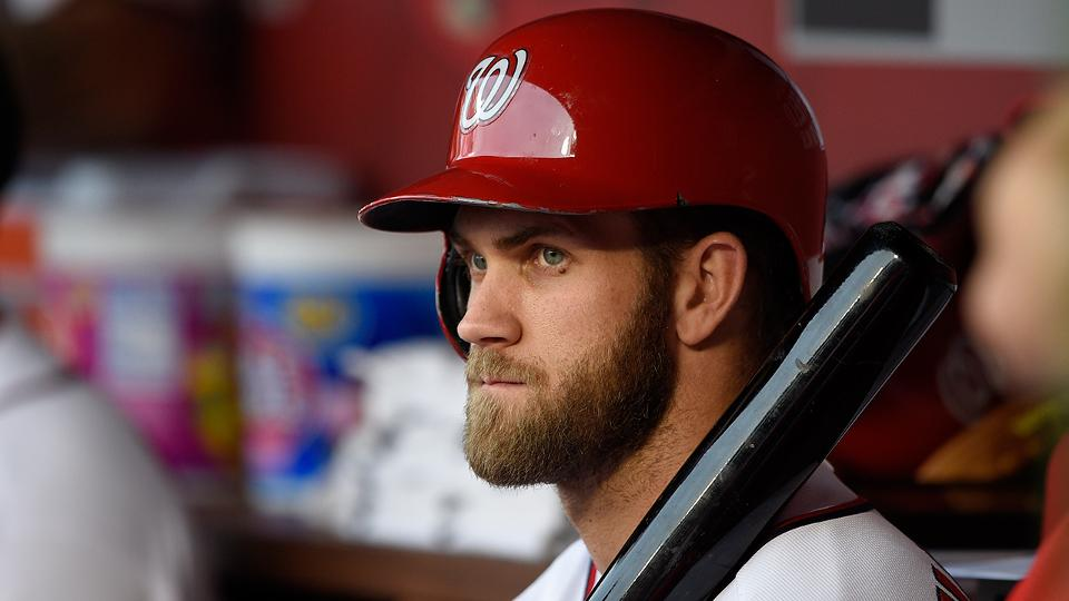 307adf16683 Dusty Baker says Bryce Harper learning to lead
