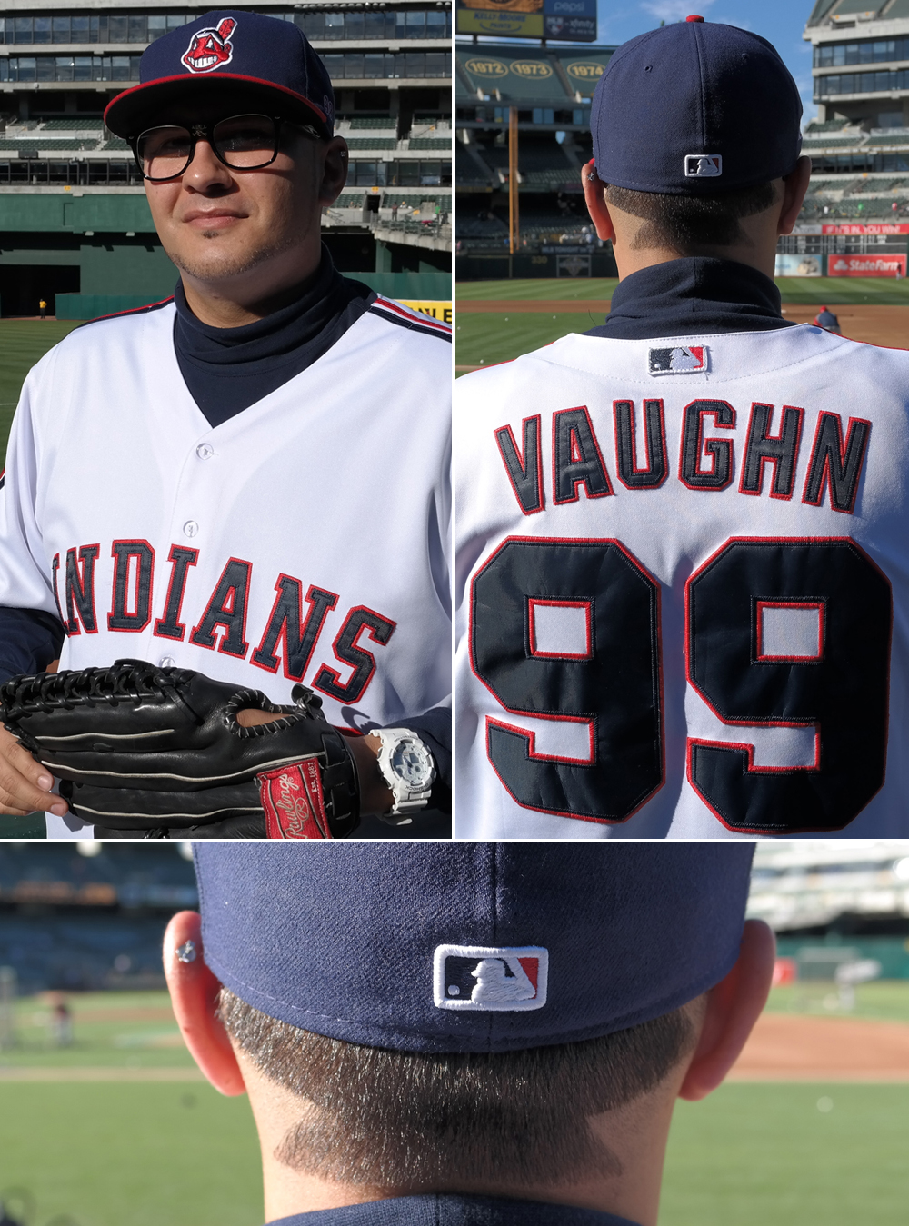 a s fan s rick vaughn costume is complete with thing