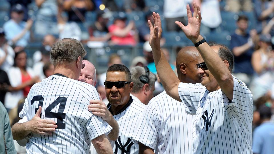 Yankees celebrate 20th anniversary of  96 WS  61856496465e
