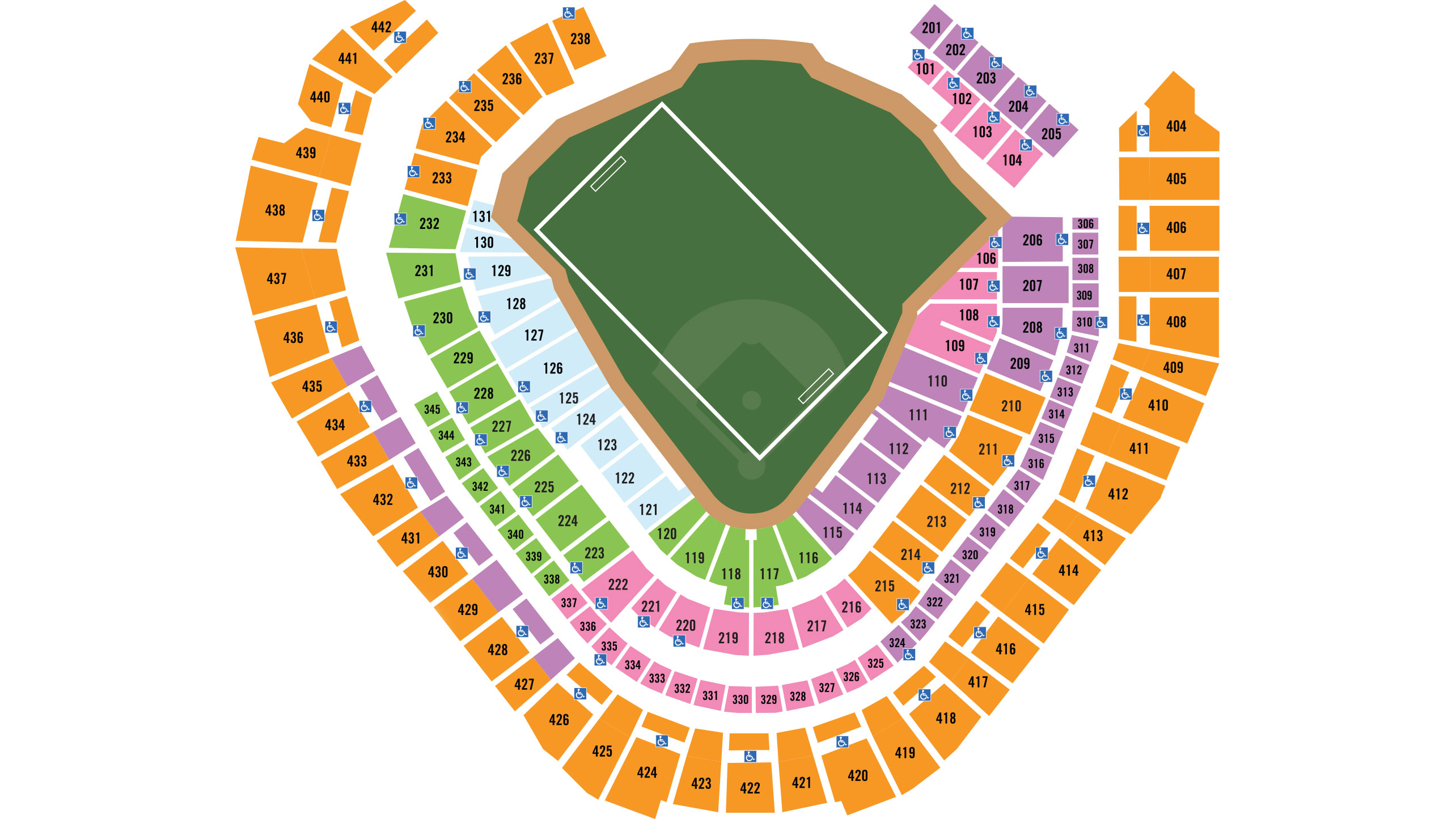 Printable Miller Park Seating Chart
