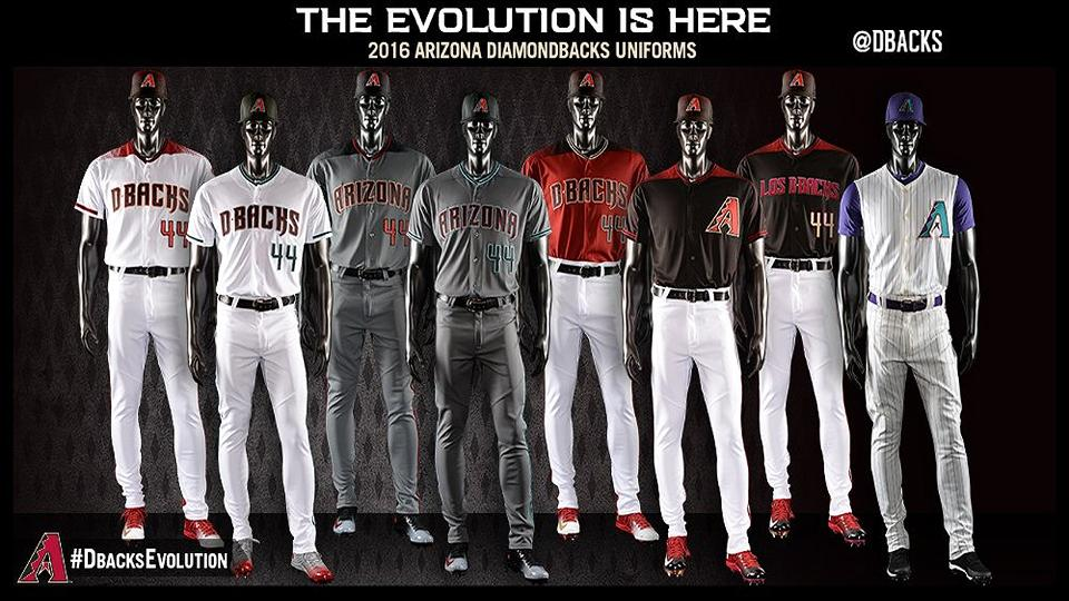 c2ccbe508 Arizona Diamondbacks unveil new uniforms