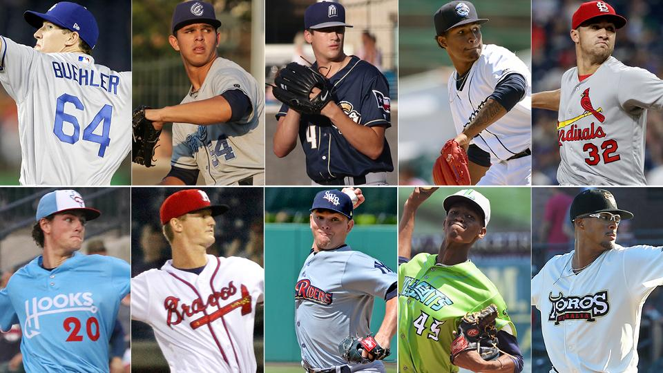 3be7198c7 Pitching prospects who improved stock in 2017   San Diego Padres