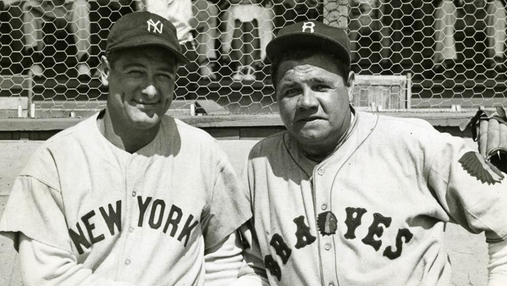 huge discount a35b1 12c43 80 years ago today, Babe Ruth signed with the Boston Braves ...