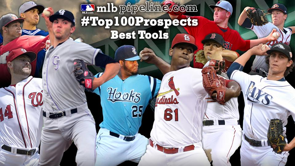 36eda12de Best tools among pitchers on Top 100 prospects | Los Angeles Dodgers