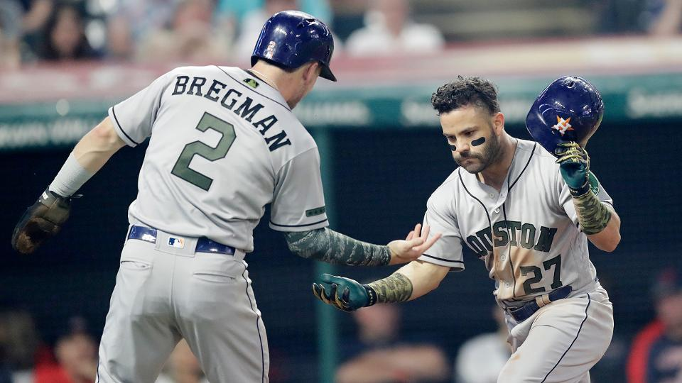 Jose Altuve has big night in loss to Tribe