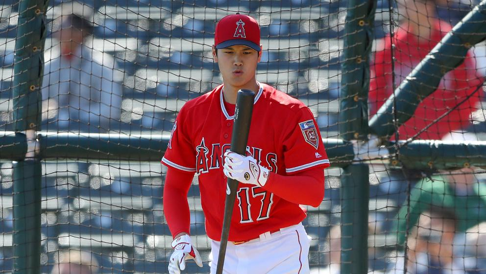 35fa1839663 Watch Shohei Ohtani deliver his very first hit in an Angels uniform ...
