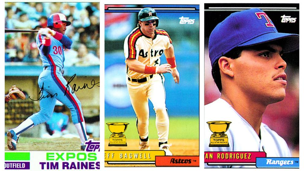 Topps Cards Of The Baseball Hall Of Fame 2017 Class Mlbcom