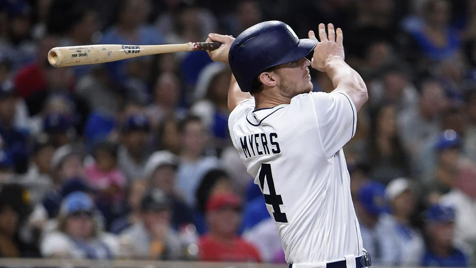 Myers launches 6th HR over 4-game streak