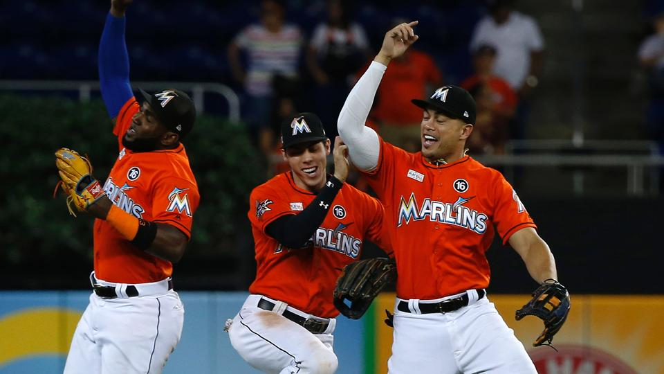 76d0f3db8 Marlins finish homestand on high note