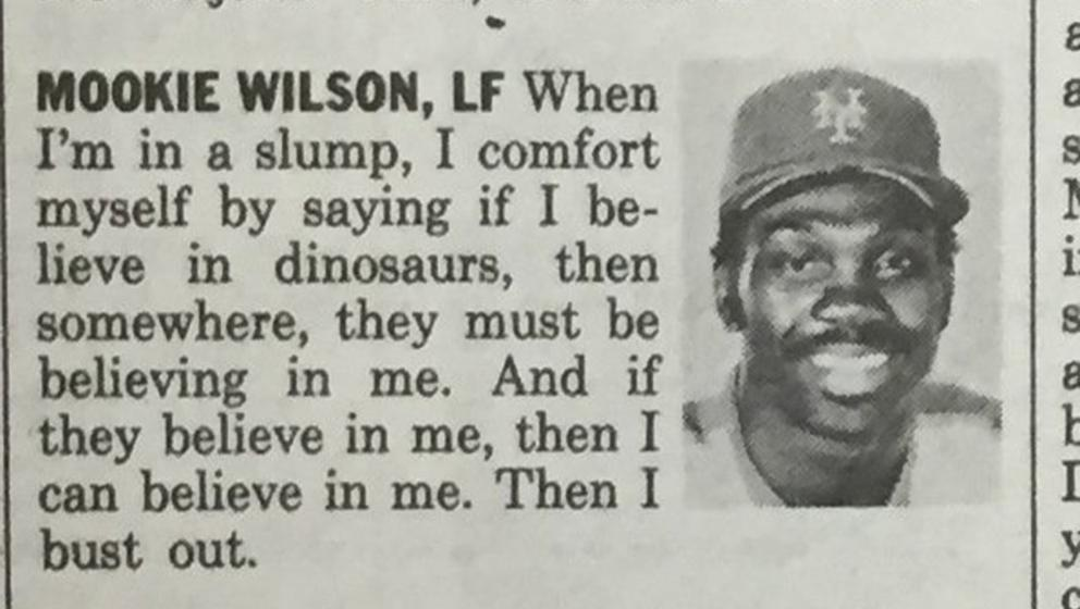Here's the full article that viral Mookie Wilson quote is ...